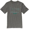 Patagonia Boys' Live Simply Guitar T-shirt Gravel Heather